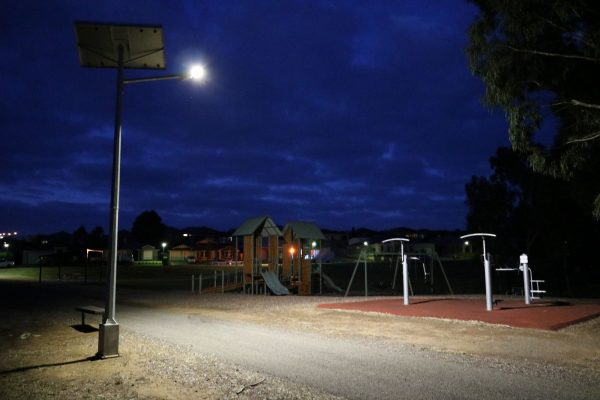 solar powered street light - Hewett SA