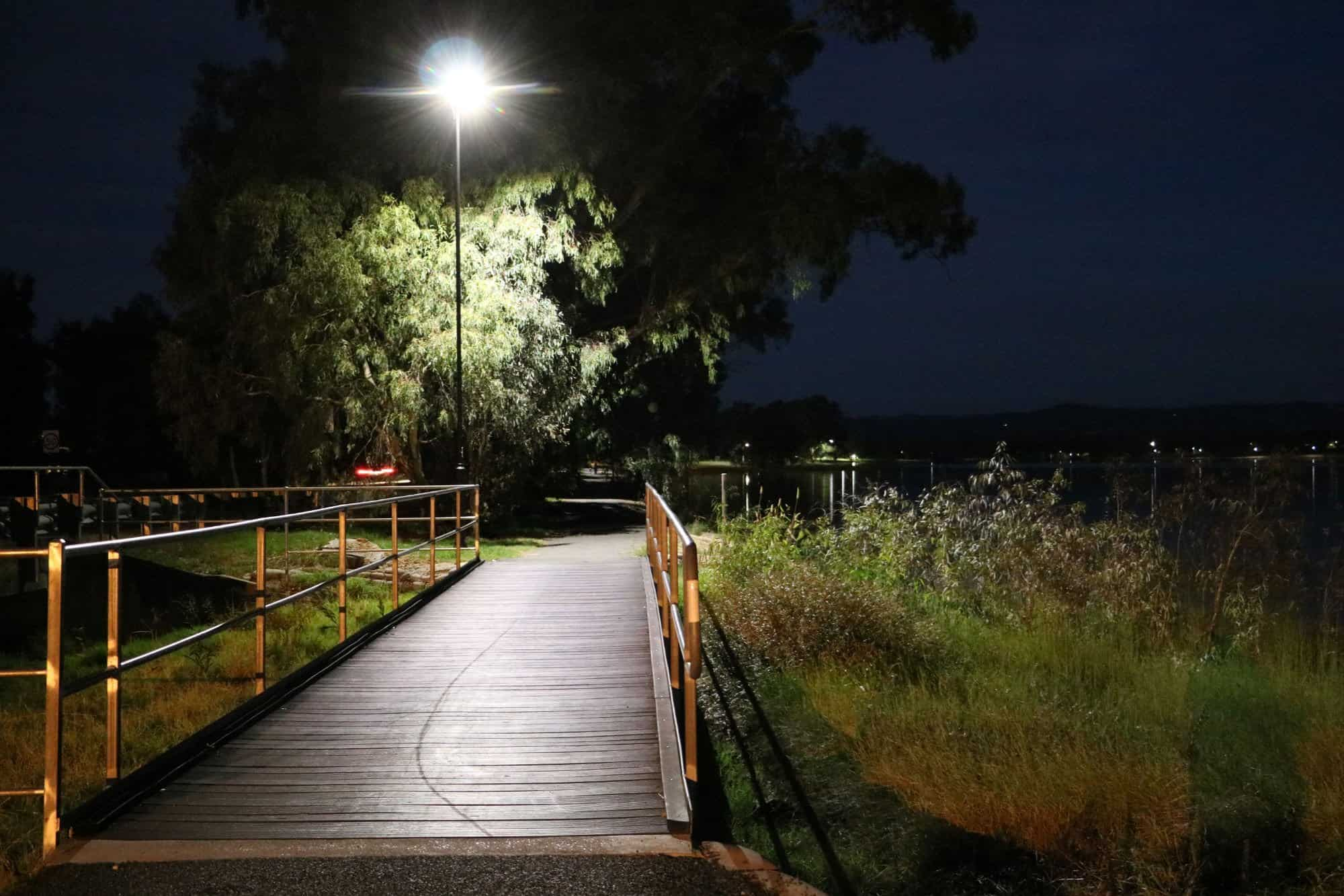 GFS-Stealth solar pathway light Victor Harbour SA