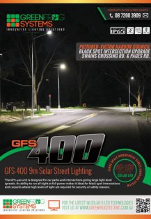 GFS 400 Solar Street Light