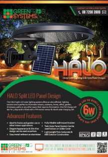 GFS-HALO solar secity lighting