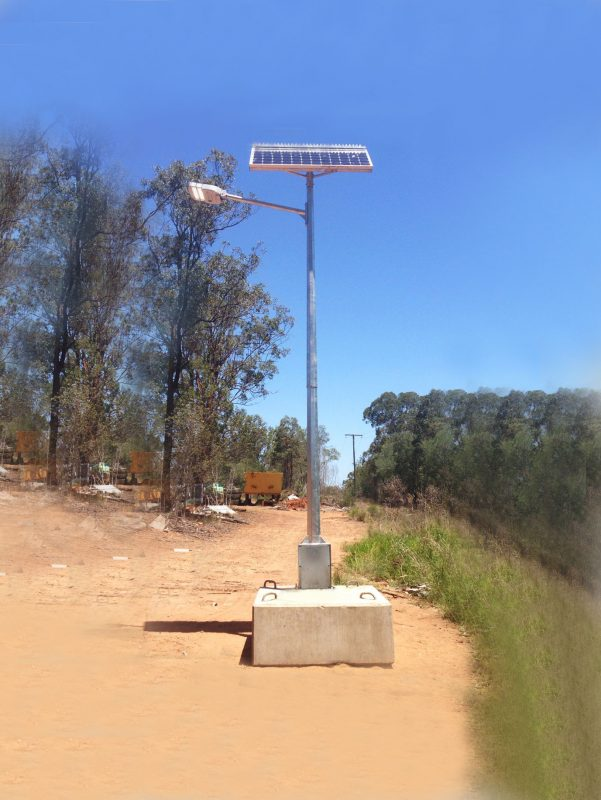 portable lighting tower gfs-200 solar street light