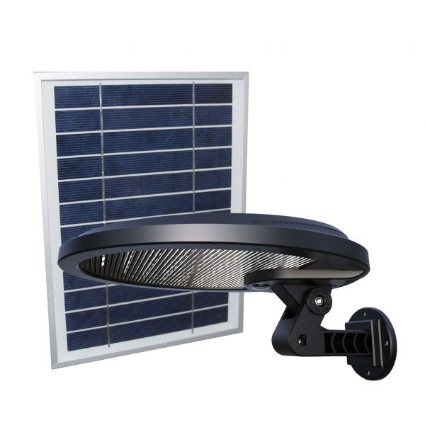 HALO solar security light