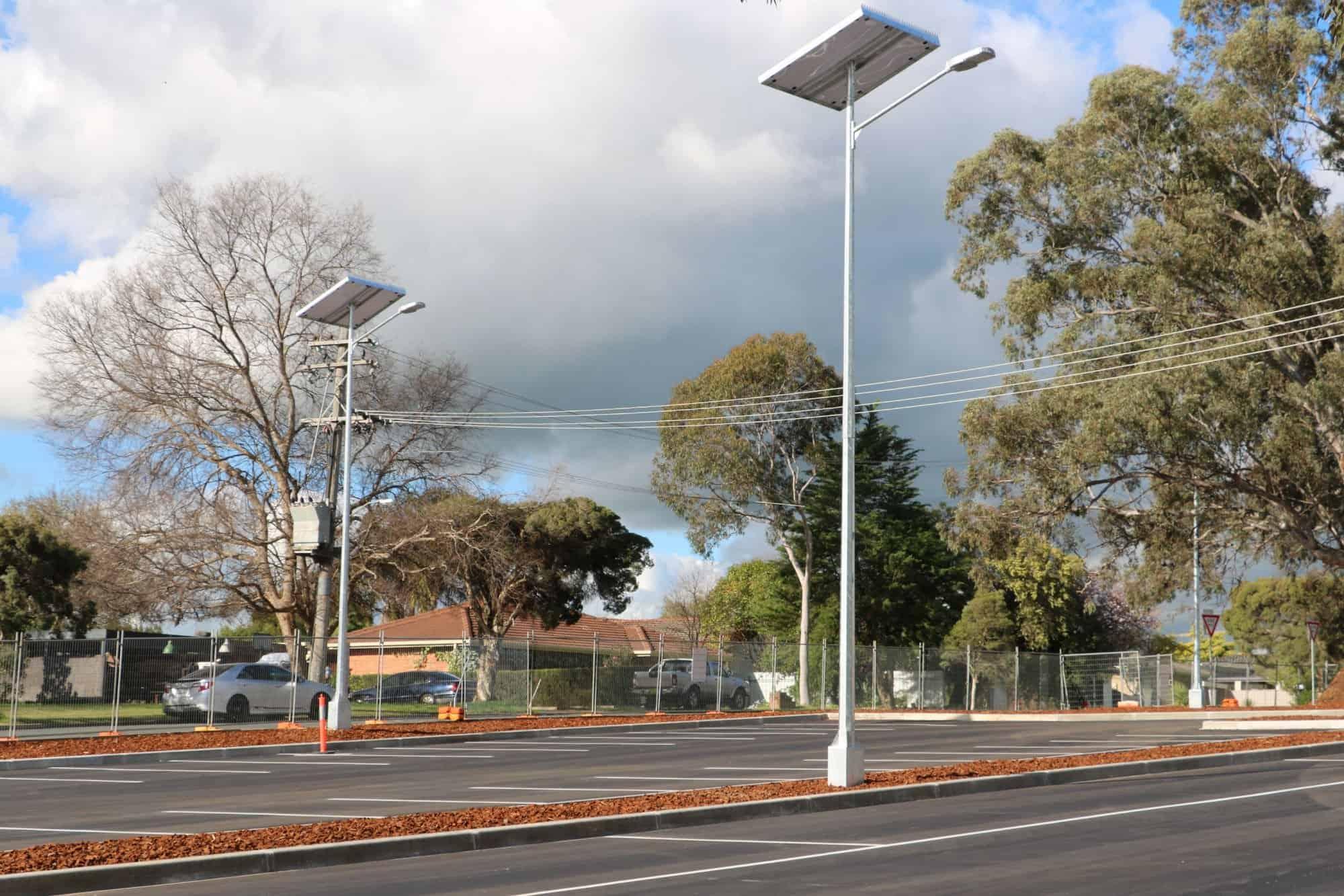 Gfs 400 Solar Street Light 187 Green Frog Systems