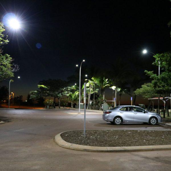 street lights of car park 50w sentinel