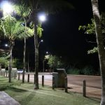 sentinel-50 smart LED street lighting in public space