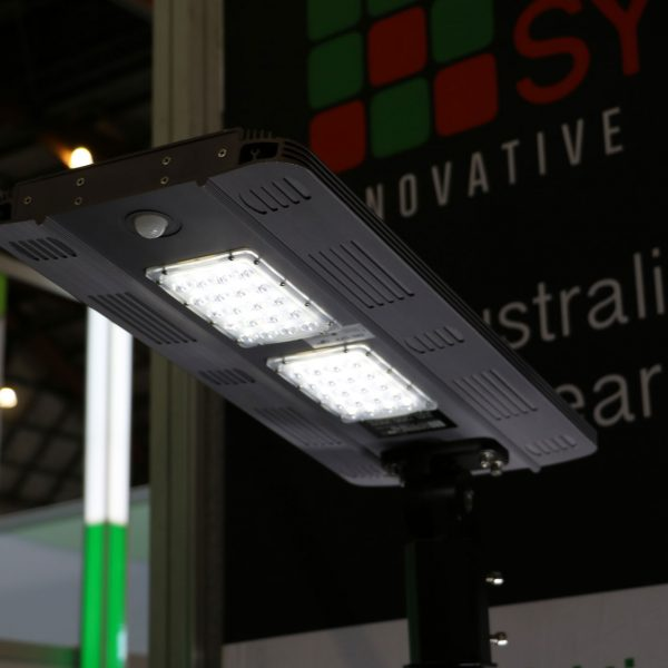 solar path light and security light