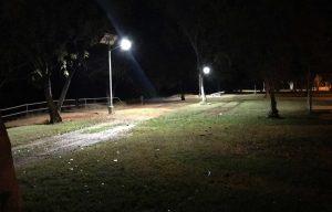 solar street light sin Katherine Parklands