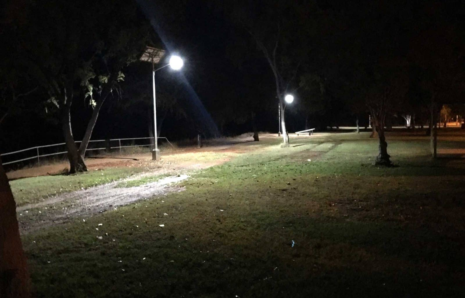 Cyclone Rated Solar Street Lighting – Karratha, WA