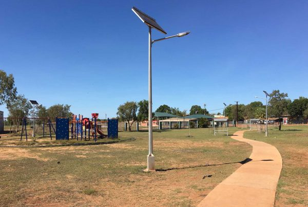 Solar Park Lighting – Nkugurr Community