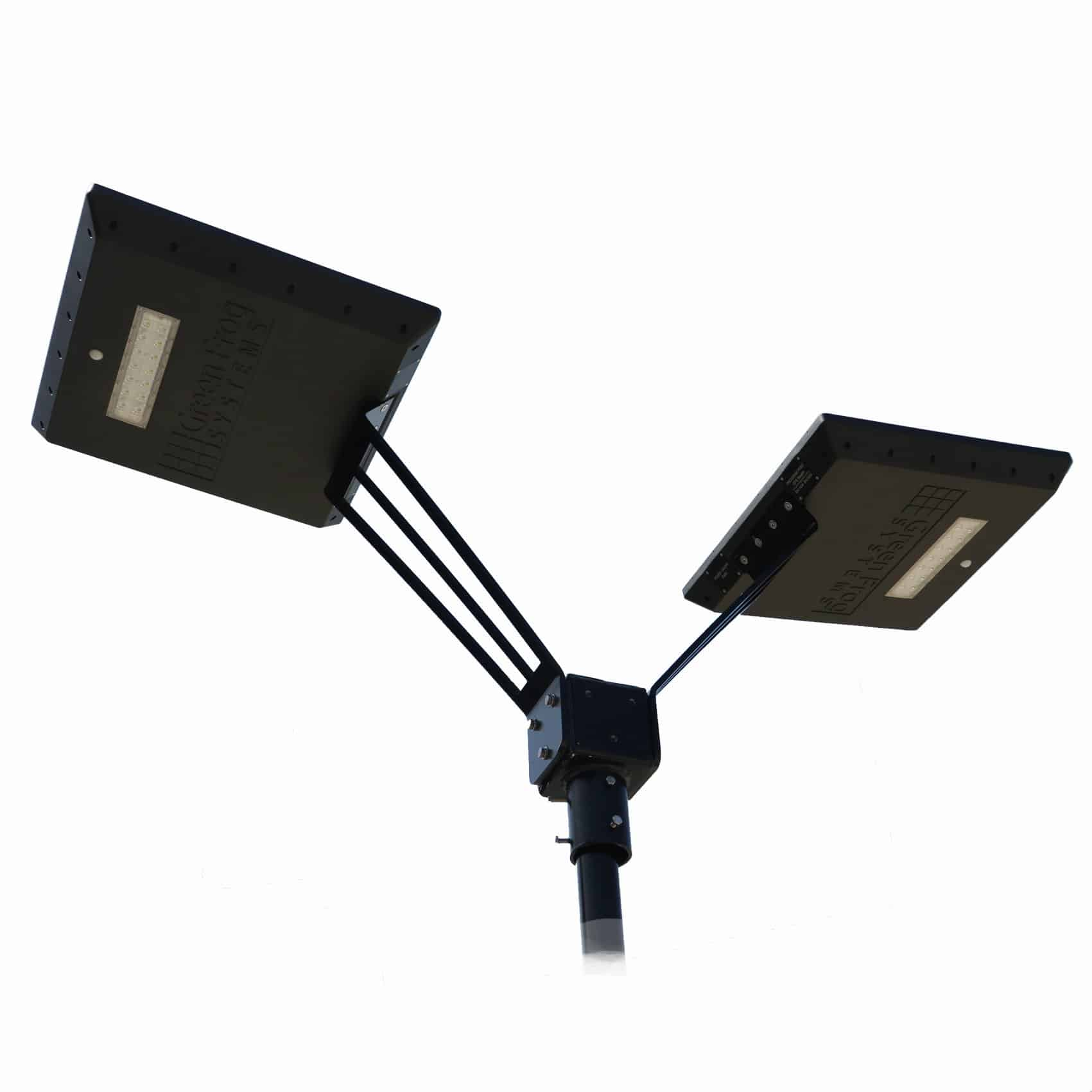twin stealth solar path light