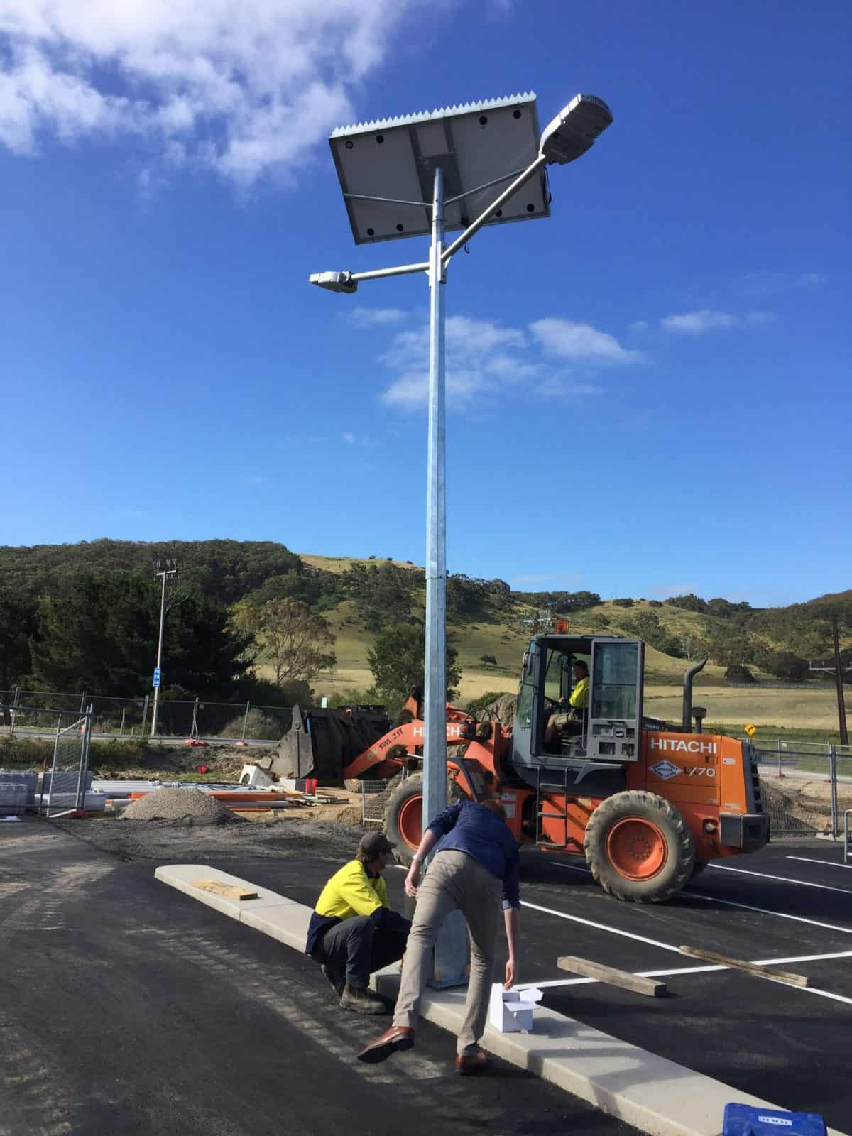 Solar Car Park Lighting – IGA Mt Compass