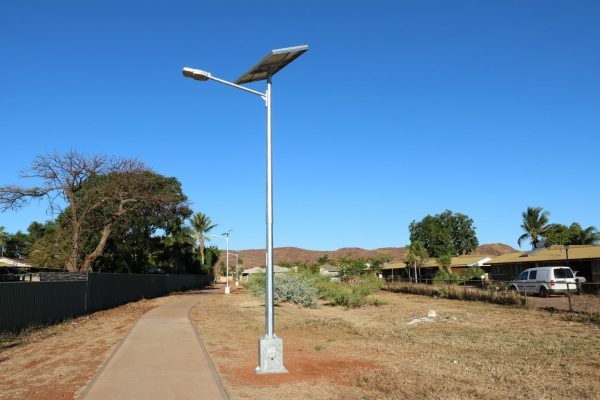 cyclone rated solar street light