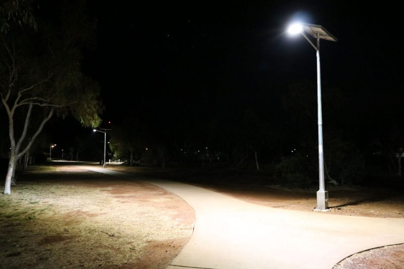 cyclone rated solar street lighting kits WA