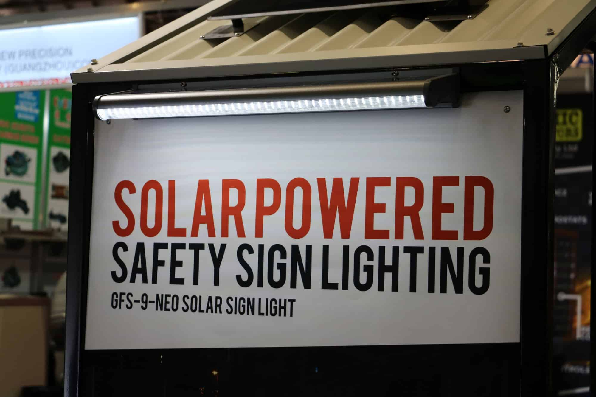 solar sign light