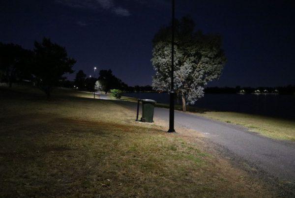 solar pathway light project lake albert