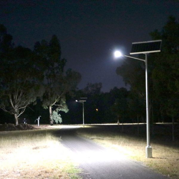 Solar street lighting - Hewett SA
