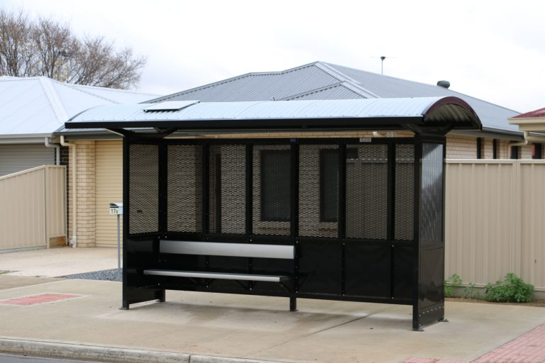 solar bus shelter light solar panel