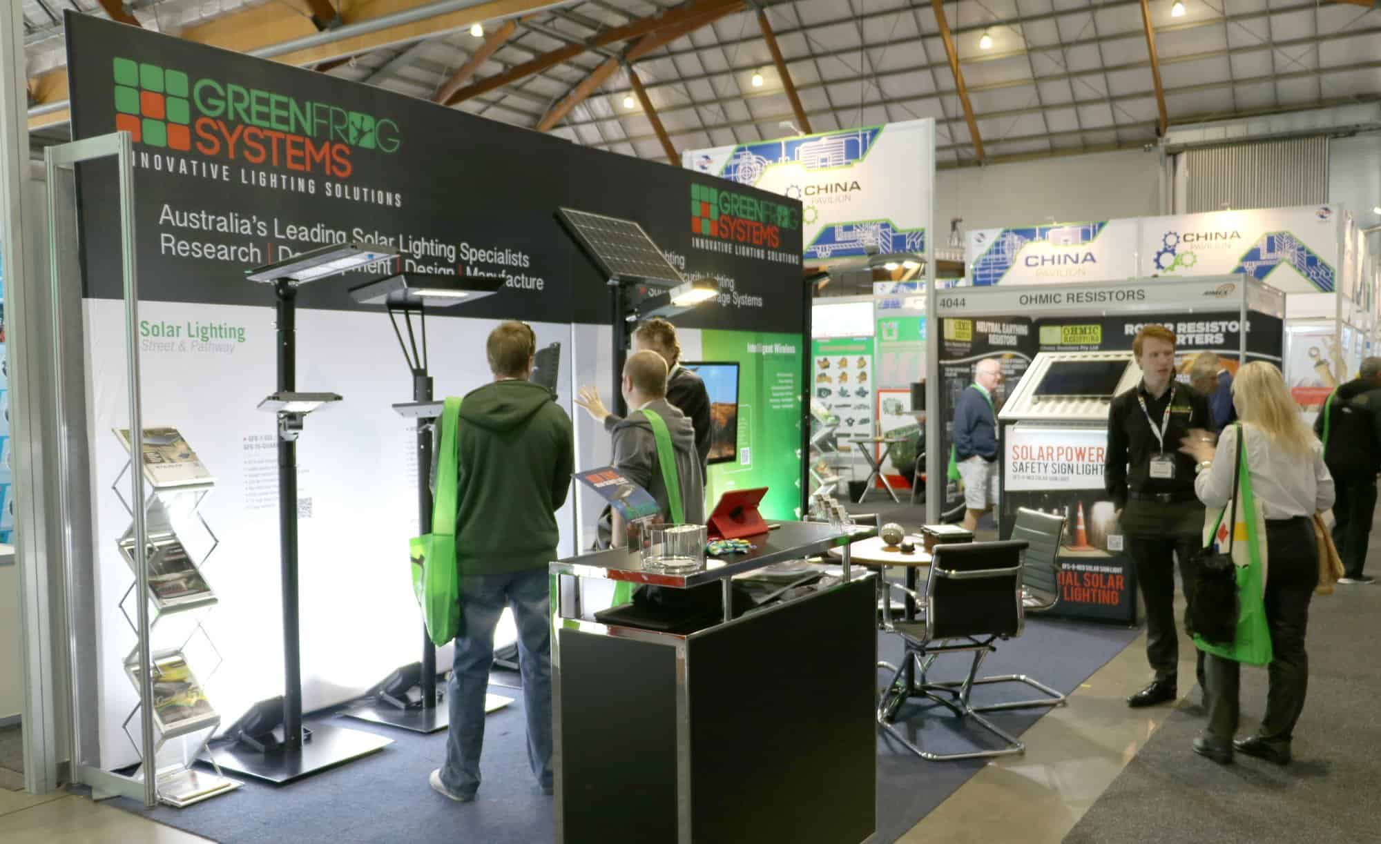 Green Frog Systems Exhibiting at AIMEX