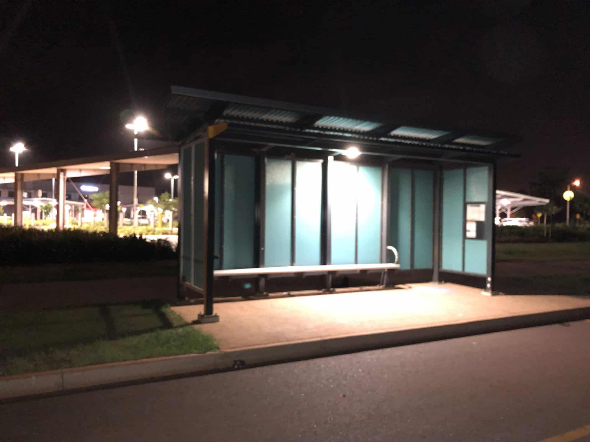 solar shelter lighting in Darwin