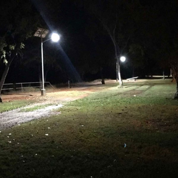 solar street lights for illuminating streets Katherine NT