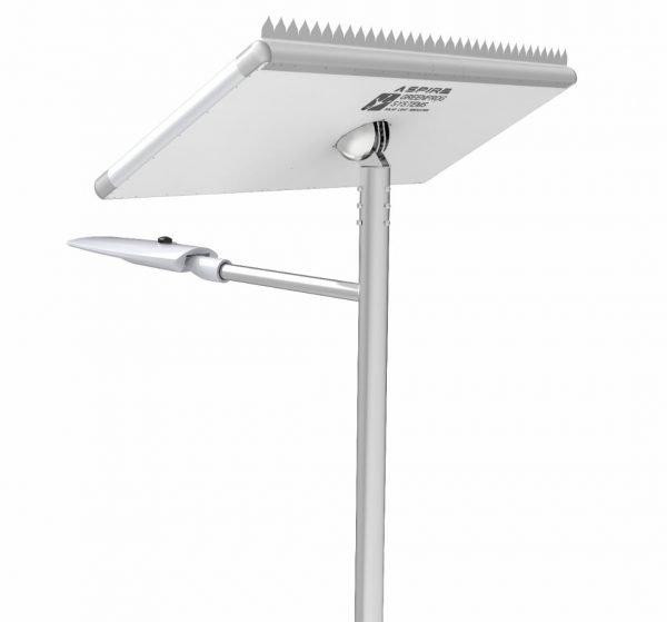 smart solar street lighting