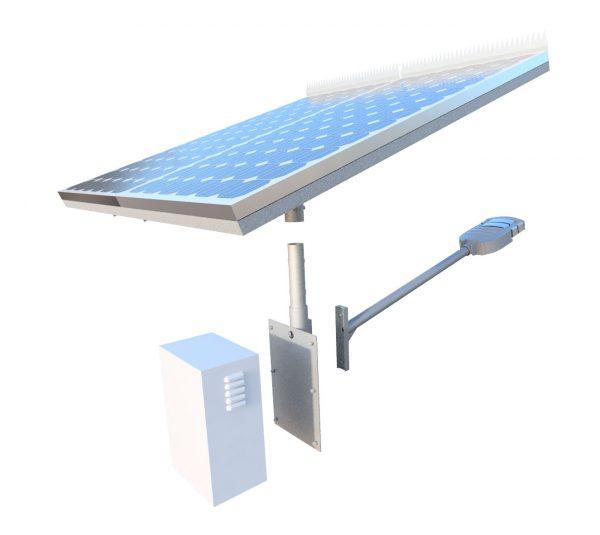 Gfs-400 solar street light kit