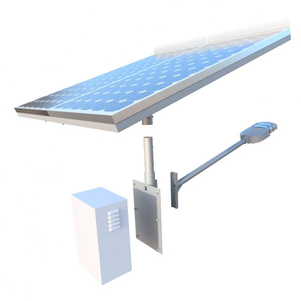 Gfs-400 solar street light kit