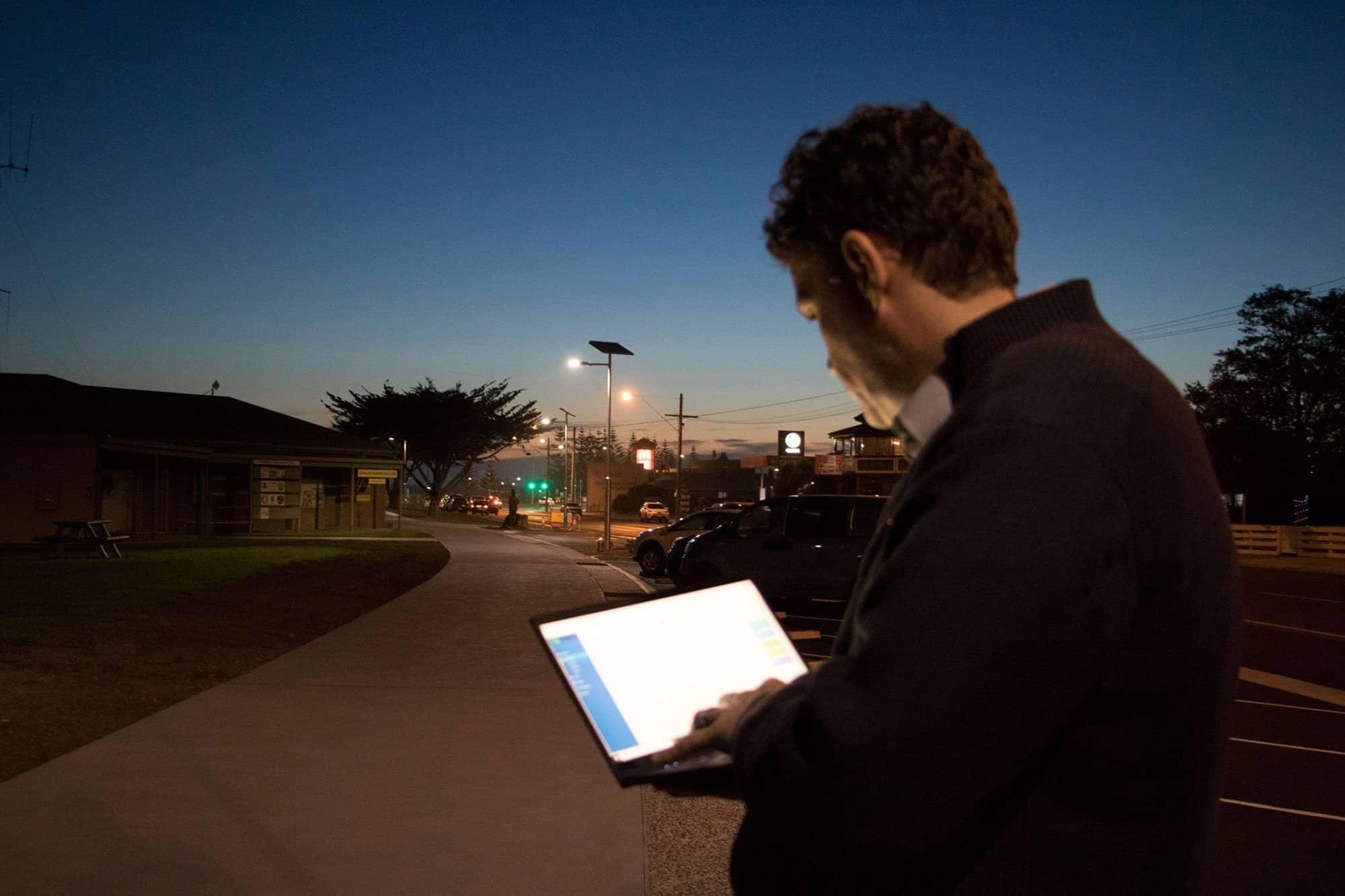 SAM solar activity monitoring and control dashboard