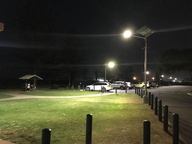 point moore carpark after shot