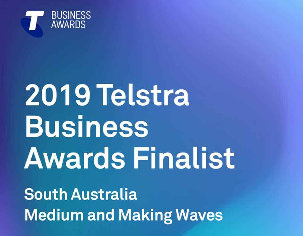 Green Frog Systems Telstra Business Awards Finalist