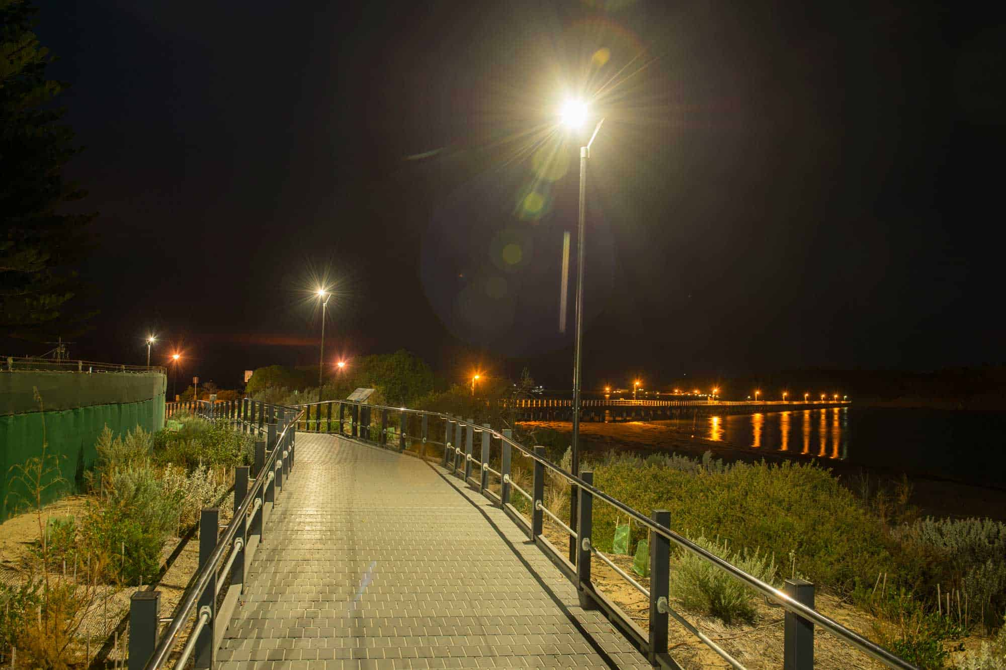 solar pathway lighting landing page