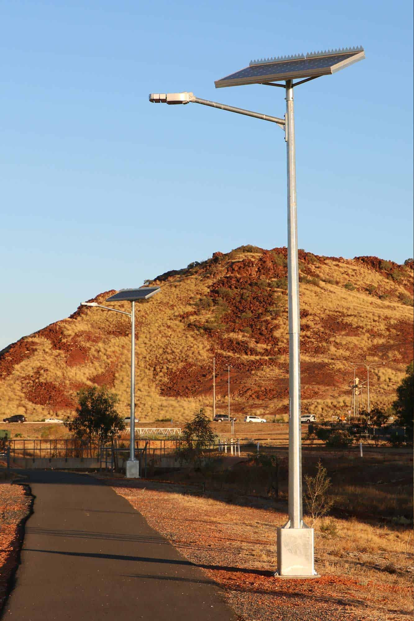 Solar Street Lighting » Green Frog Systems