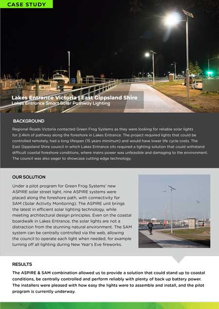 Lakes Entrance case study