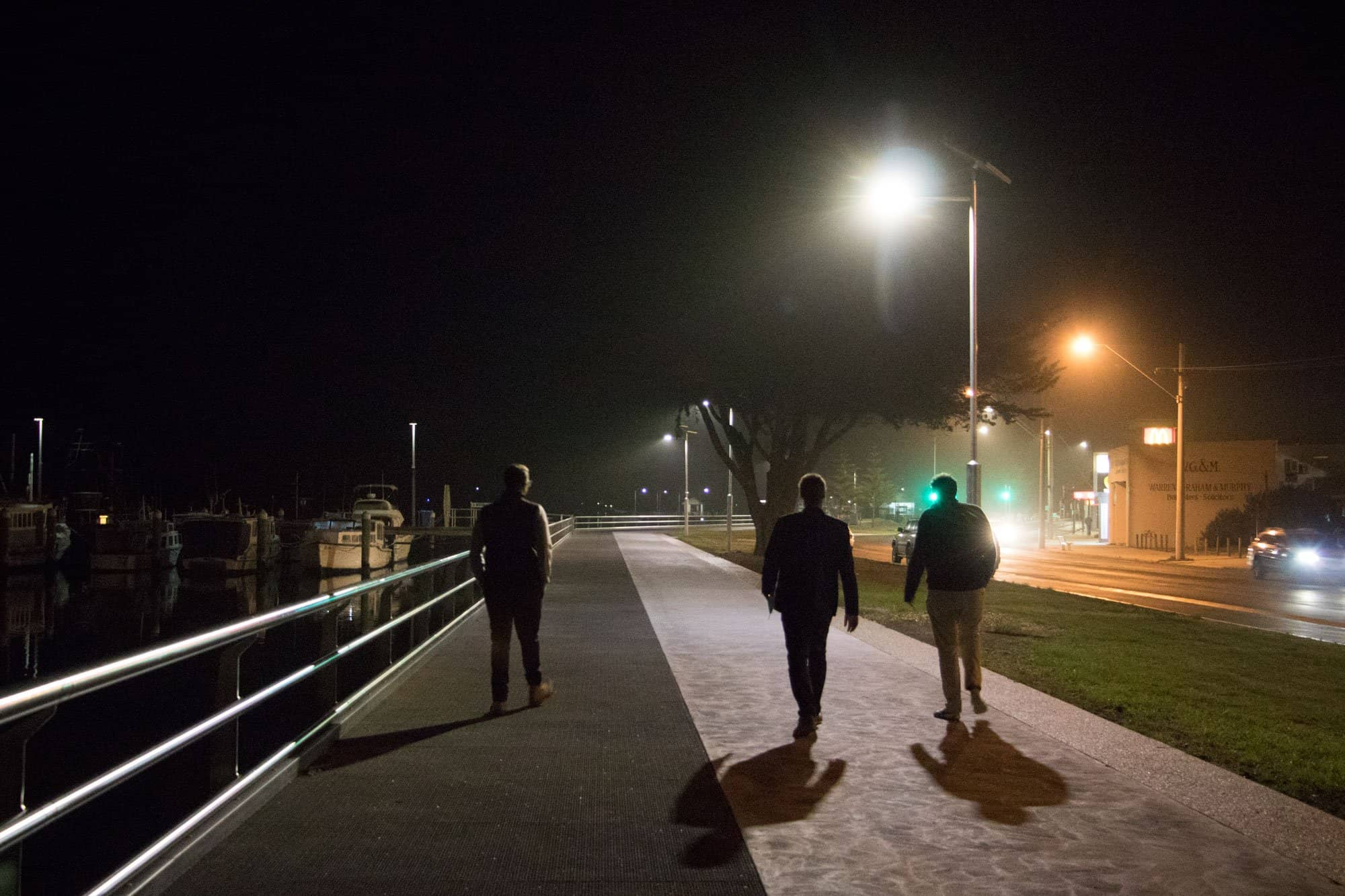 solar pathway lighting project at East Gippsland Shire In Victoria