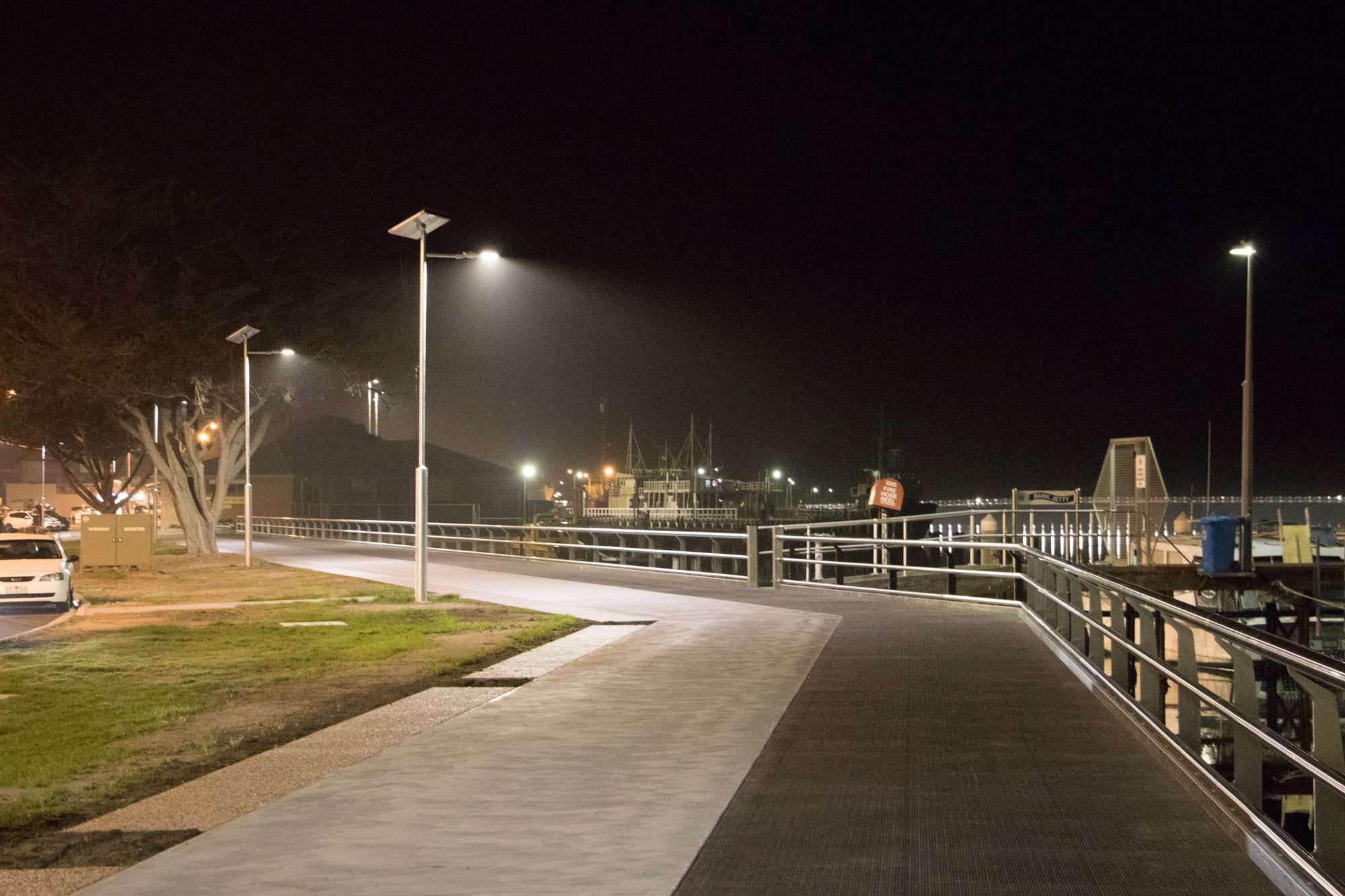 smart solar path lights at East Gippsland Shire In Victoria