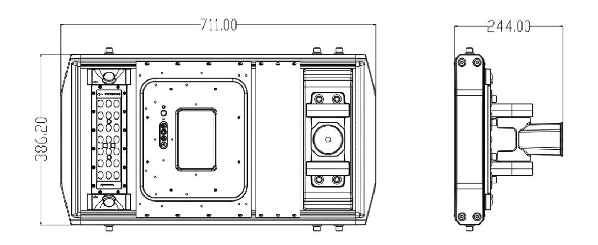 Defender-40 product dimensions