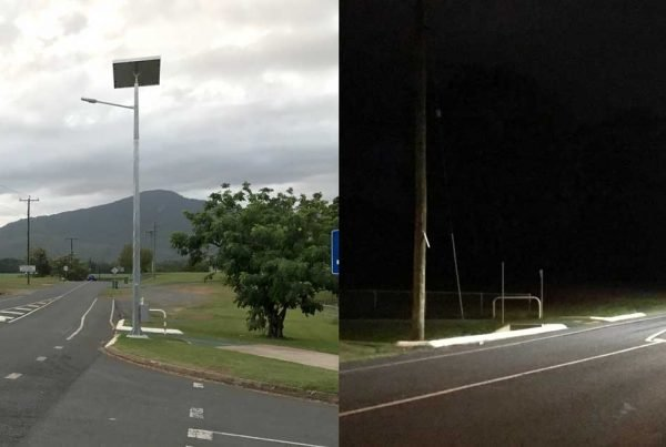 solar roadway lighting cairns