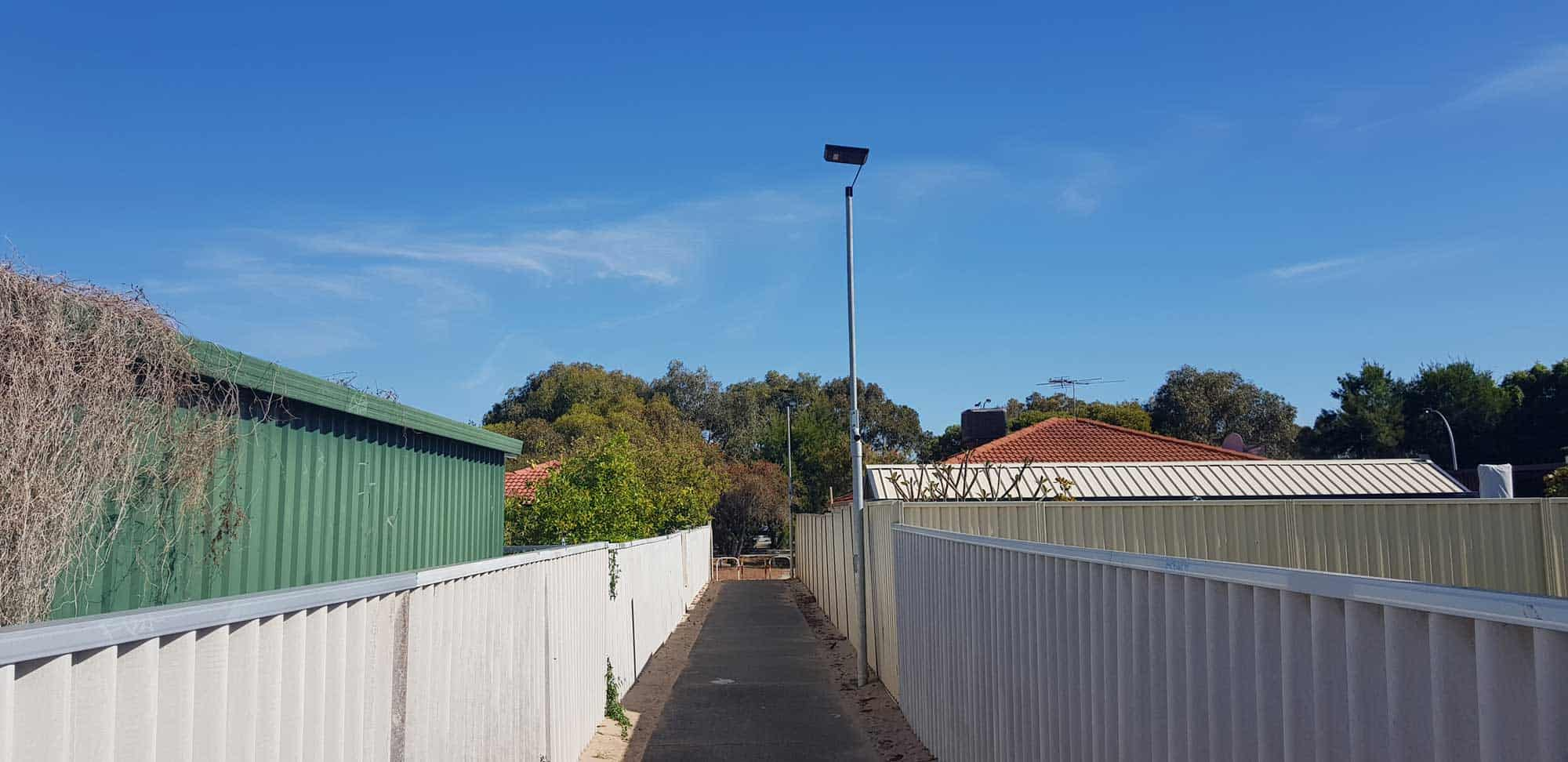 solar alley lighting city of rockingham