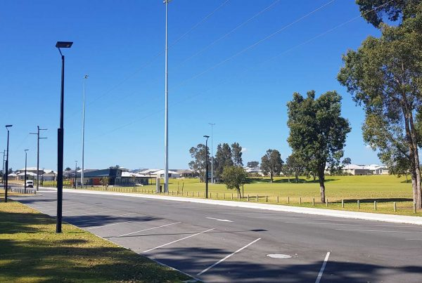 solar pathway lighting city of rockingham