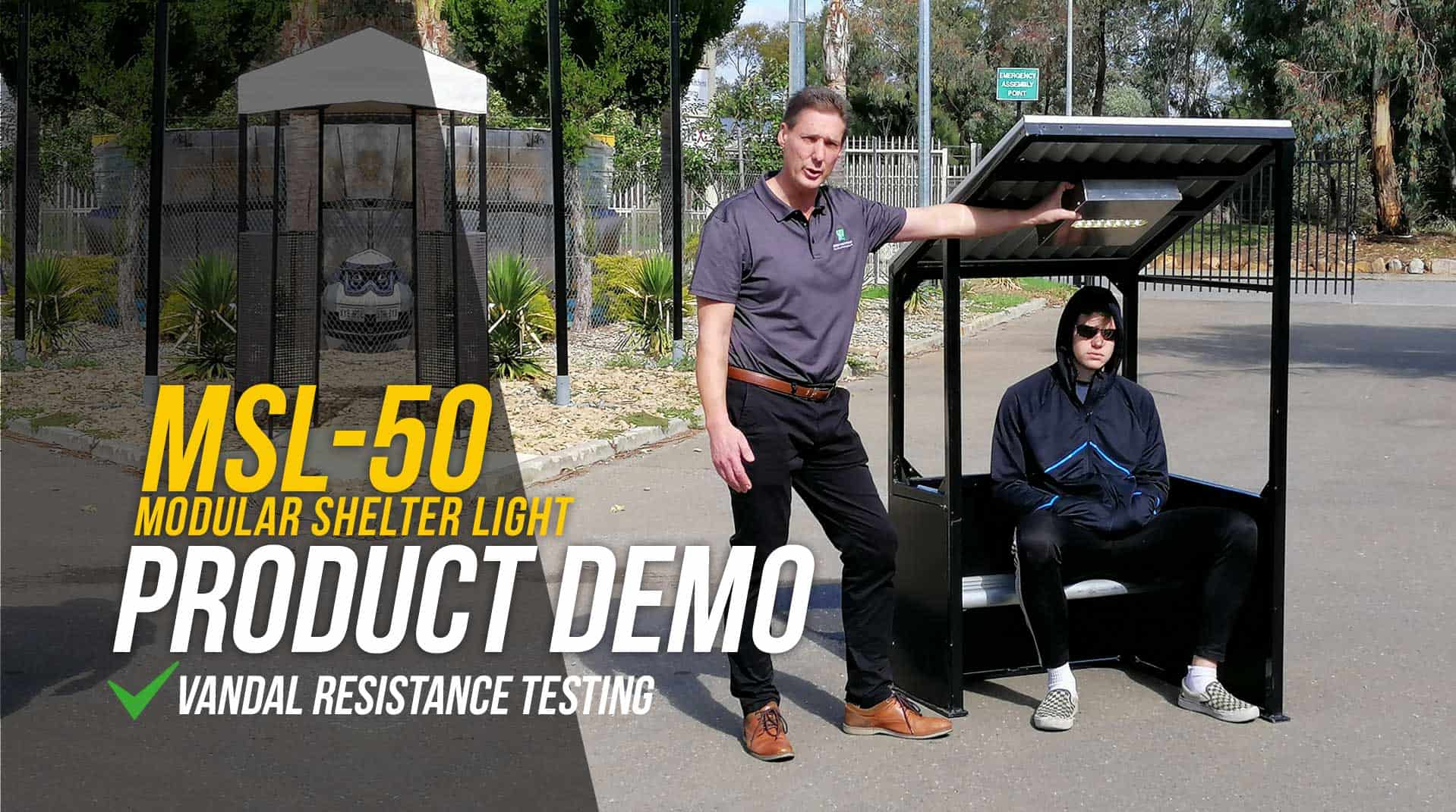 Vandal resistance testing of teh GFS-50-MSL