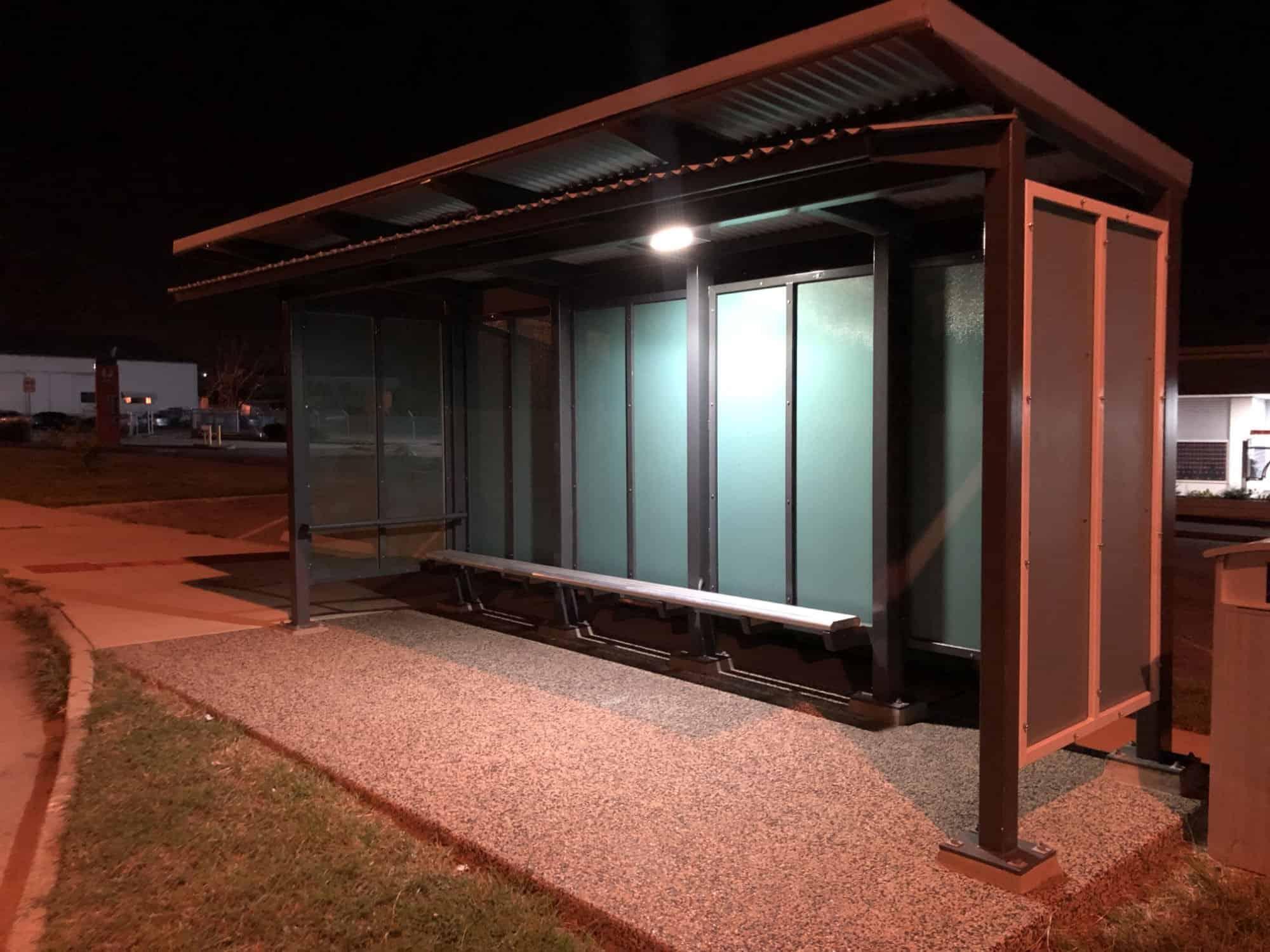 solar shelter lighting in Darwin