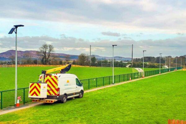 Defender 55 Solar Light Conolly Park Northern Ireland