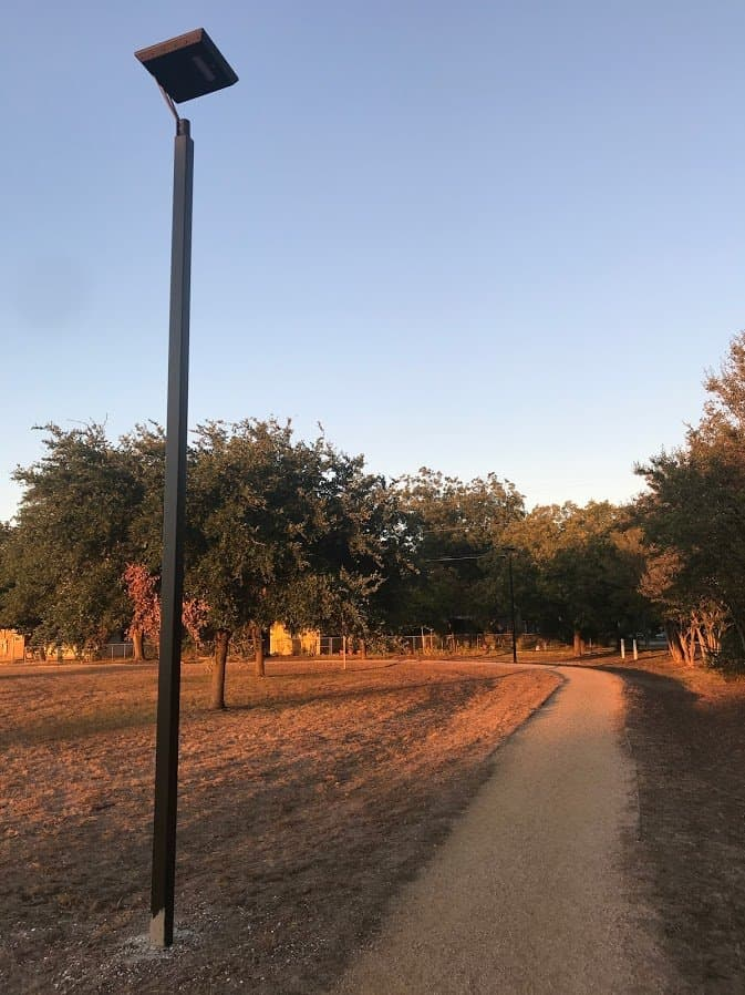 Solar Path Lights Woodway Texas