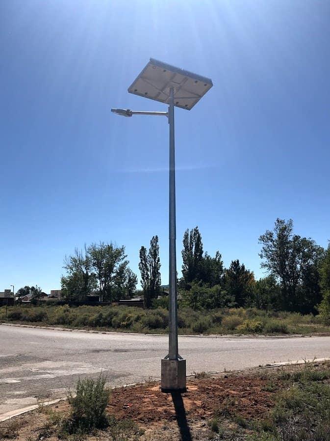 Residental street Lighting at Grants New Mexico
