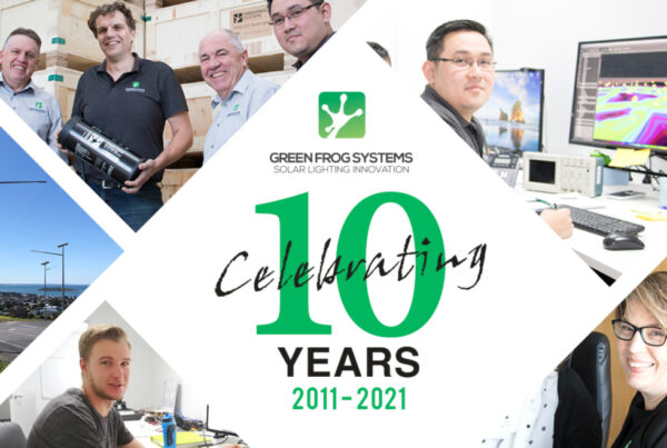 10 Years of Green Frog Systems