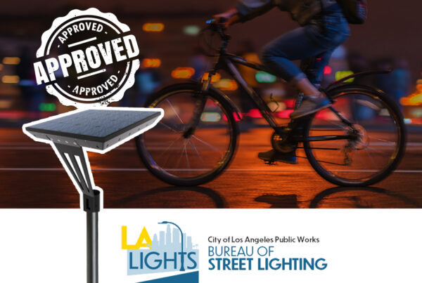 Approved by the LA bureau of street lighting