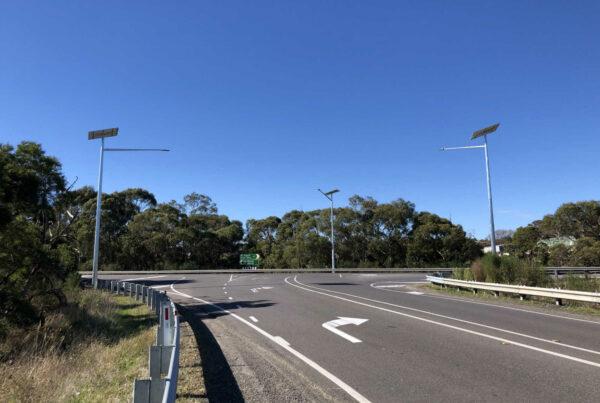 Solar Roadway Lighting Stage 2