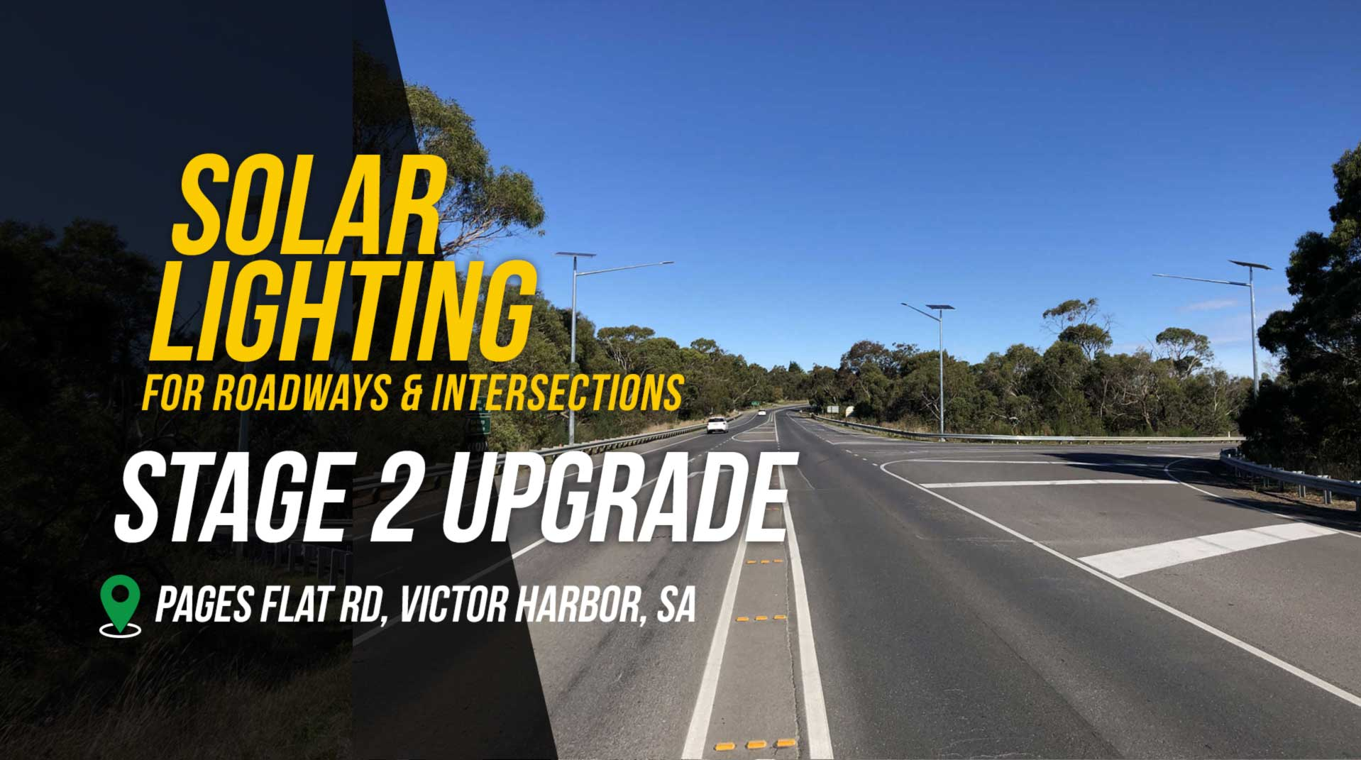 Solar Intersection Lighting Project - Stage 2