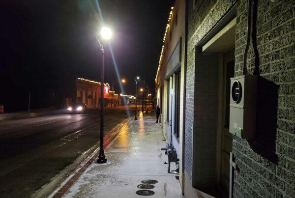 Lee Street Denton Texas